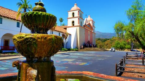 Old Mission Santa Barbara (圣巴巴拉)